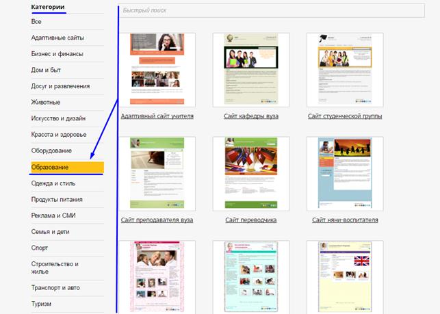 Готовые сайты для школьного учителя